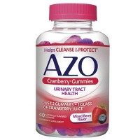 AZO Cranberry Gummies for Urinary Tract Health to Cleanse + Protect - 40ct