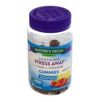 Nature's Truth Organic Stress Away, Natural Lemon & Strawberry Flavor, Gummies