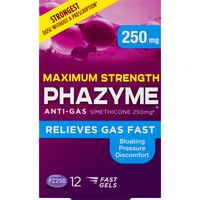 Phazyme Maximum Strength Anti-Gas Fast Gels