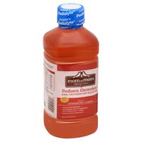 Mom to Mom Pediatric Electrolyte, Natural Strawberry Flavor