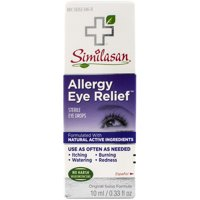Similasan Allergy Eye Relief Eye Drops 0.33 Ounce Bottle