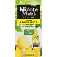 Minute Maid 100% Pure Lemon Juice