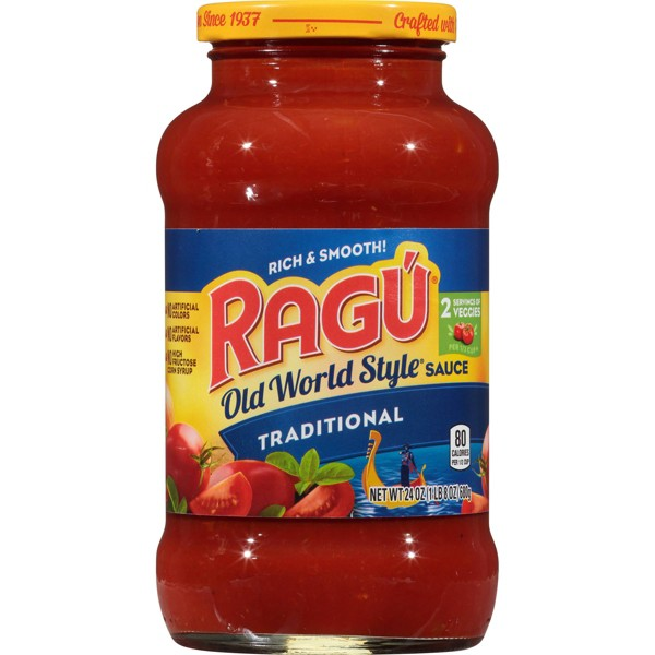 RAGU Old World Style Traditional Pasta Sauce - 24oz