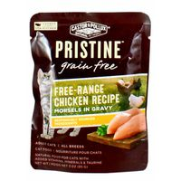 Castor & Pollux Natural Petworks Pristine Grain Free Free-range Chicken Recipe Morsels In Gravy Adult Cat Food