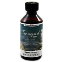 Fragranced Warming Oil 150mL Tranquil Spa Fragrance