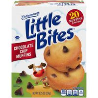 Entenmann's Little Bites Chocolate Chip Mini Muffins made with Real Chocolate