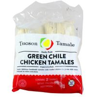 Tuscan Tamale Tamales, Chicken, Green Chile