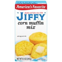 (1 Box) Jiffy Corn Muffin Mix, 8.5 Oz.