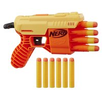 Fang QS-4 Nerf Alpha Strike Toy Blaster -- Includes 10 Official Nerf Elite Darts