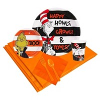 Dr. Seuss Halloween Party Tableware Pack