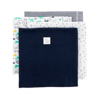 Child of Mine by Carter's, 4 Pack Receiving Blanket - Baby Boys