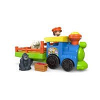 Little People Choo-Choo Zoo Train with Conductor and 2-Animals