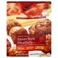 Signature Kitchens Fully Cooked Traditional Beef And Pork Meatballs With Italian Style Seasonings