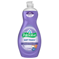 Palmolive Ultra Dish Liquid, Soft Touch Almond Milk and Blueberry Scent, 20 fluid ounce
