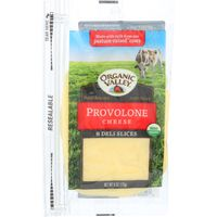 Organic Valley Deli Slices Provolone Cheese