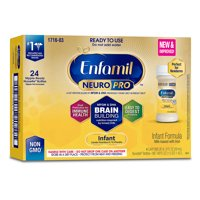 Enfamil Neuropro Baby Formula, Brain Building Nutrition - Ready to Use 2 oz (24 Bottles)