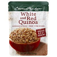 Central Market Quick Heat White And Red Quinoa