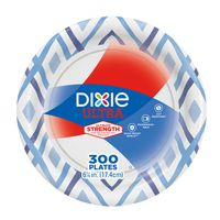 Dixie Ultra Strength Paper Plates 6 7/8'', 300 ct