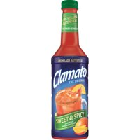 Clamato Sweet & Spicy Tomato Cocktail, 1 L bottle