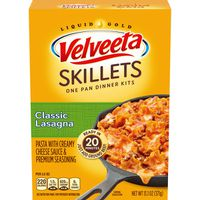 Kraft Velveeta Cheesy Skillets Classic Lasagna Dinner Kit