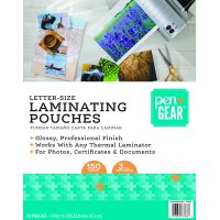 Pen+Gear Laminating Pouches, 9 in x 11.5 in, 150 Count