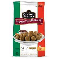 Cooked Perfect Homestyle Frozen Meatballs - 32oz