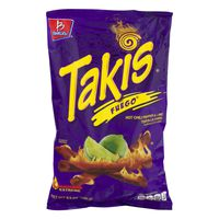 Takis Tortilla Chips, Hot Chili Pepper & Lime, Extreme