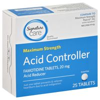 Signature Acid Controller, Maximum Strength, 20 mg, Tablets