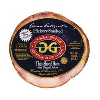 Double-g Hickory Smoked Thin Sliced Ham With Natural Juices