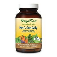 MegaFood Men's One Daily Multivitamin Tablets - 30ct