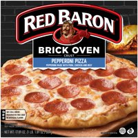 Red Baron® Brick Oven™ Crust Pepperoni Pizza, 17.89 oz Box