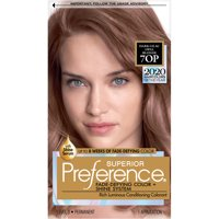 L'Oreal Paris Superior Preference Fade-Defying Shine Permanent Hair Color, 70P Light Lilac Opal Brown, 1 kit