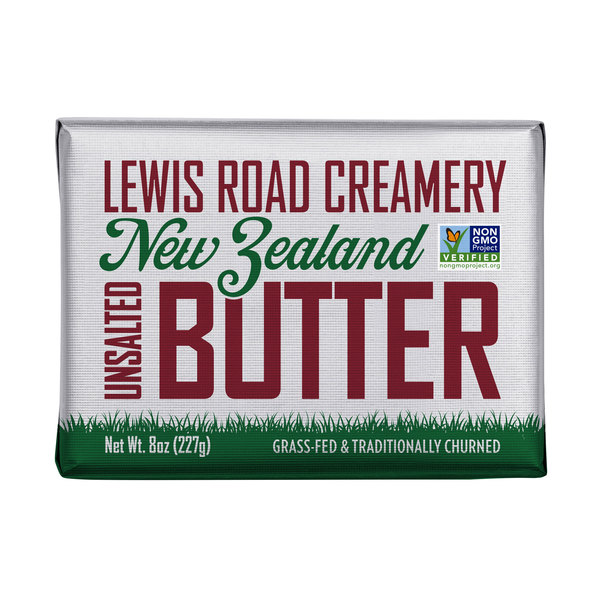 Lewis road creamery Unsalted Butter, 8 oz