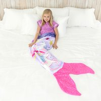 Unicorn Blankie Tail for Kids by Your Zone, Pink and Purple