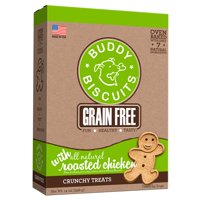 Cloud Star Buddy Biscuits Grain-Free Roasted Chicken Dog Treats, 14 Oz