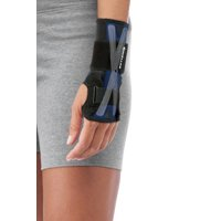 Mueller X-Stay Wrist Stabilizer, Black, Large/Extra Large