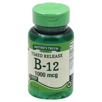 Natures Truth Vitamin B-12, 1000 mcg, Timed Release Tablet