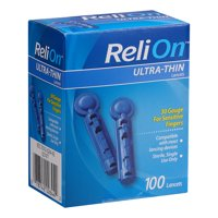 ReliOn Ultra-Thin Lancets, 30-Gauge, 100 Count