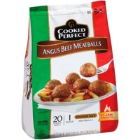 Cooked Perfect Angus Beef Meatballs, 20 ct, 20 oz