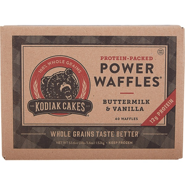 Kodiak Cakes Power Waffles, 53.6 oz From Costco in Austin
