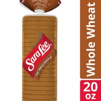 Sara Lee 100% Whole Wheat Bread, Made with Whole Grains, 22 slices, 20 oz
