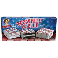 Little Debbie Red, White, & Blue Cakes chocolate 13.2oz