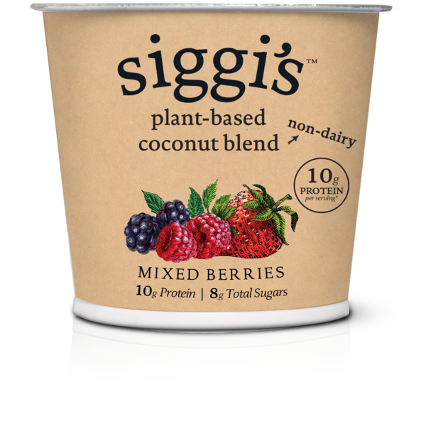 Siggi's Mixed Berries Plant Based Coconut Blend