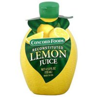 Concord Foods Lemon Juice, 4.5 oz