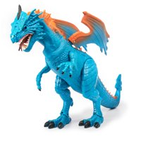 Adventure Force 10.24 inches Mighty Megasaur Dragon, Blue Orange