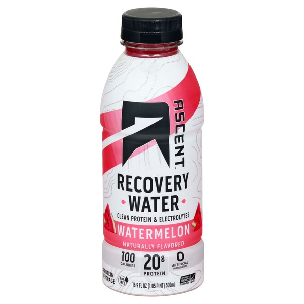 Ascent Recovery Water, Watermelon