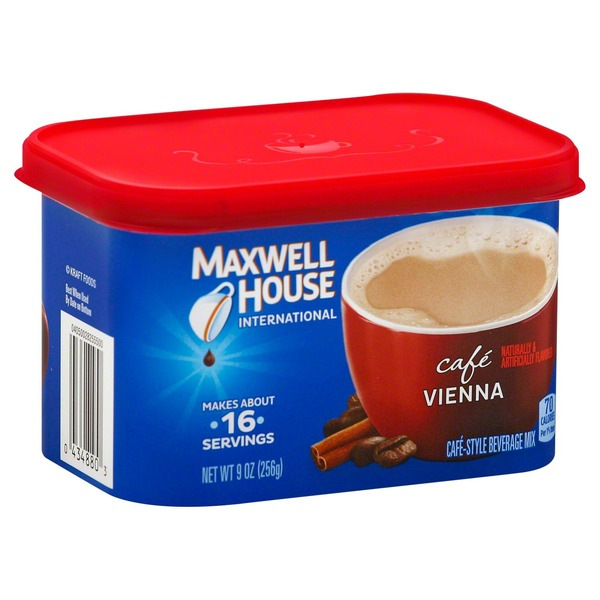 Maxwell House International Cafe Vienna Cafe-Style Beverage Mix