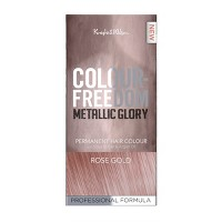 Knight & Wilson Color Freedom Metallic Glory Permanent Hair Color - Rose Gold - 4.7 fl oz