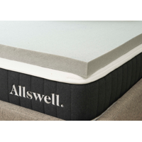 "Allswell 3"" Memory Foam Mattress Topper Infused with Graphite"