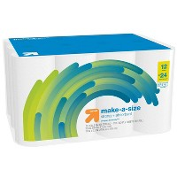 Make-A-Size White Paper Towels - Up&Up™